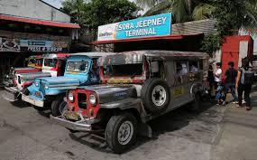 philippine jeep clipart endangered jeepney worldteen