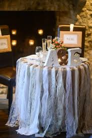 Shabby Chic Wedding Decor For Sale by Lace And Burlap Garland Wedding And Reception Ideas Pinterest