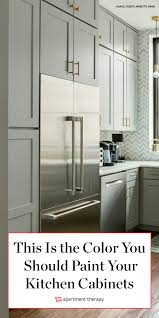 best color to paint kitchen cabinets 2021 popular kitchen cabinets colors 2021 apartment therapy