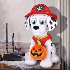 Halloween Pumpkin Origin Gemmy Holiday Greeter Paw Patrol Marshall With Pumpkin Halloween
