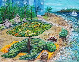unique turtle art hawaii visionary artist podge elvenstar