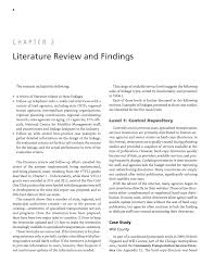 chapter 2 literature review and findings state dots connecting