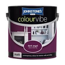 emulsion paint colours johnstone s paint colour vibe matt 2 5l painting
