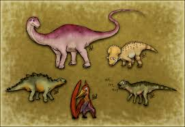 the land before time revolution the gang by thejuras on deviantart
