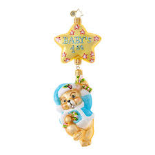 christopher radko ornaments radko baby boy things