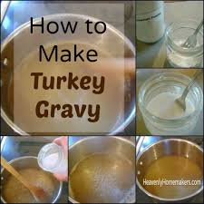to make turkey gravy