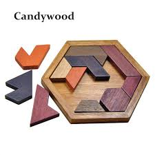 jigsaw wood 19 puzzles wooden toys tangram jigsaw board wood