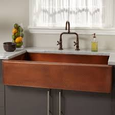 Sinks Extraordinary Hammered Copper Farmhouse Sink Kitchen Sink - Copper farmhouse kitchen sink