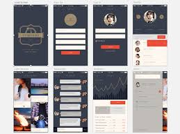 compass a free app template for sketch sketch freebie download