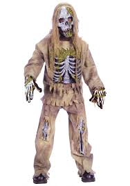 Childrens Scary Halloween Costumes Kids Dead Skeleton Zombie Costume Boys Scary Halloween Costume Ideas