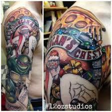 awesome teenage mutant ninja turtles tattoo sleeve male in