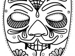 download halloween masks coloring pages ziho coloring