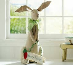 happy easter decorations cool easter decoration ideas with easter bunny and colorful easter
