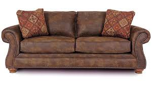 Leather Sofa Sleeper Queen Best Brown Leather Sleeper Sofa Queen 98 In Queen Size Sofa
