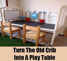 Desk Converts To Bed 12 Great Ways To Reuse Old Baby Cribs Diy Home Life Creative