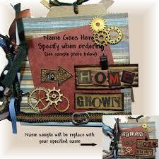 personalized scrapbook cover boy album personalized scrapbook personalized gift photo album