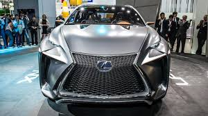 lexus lf nx lexus reveals lf nx concept top gear