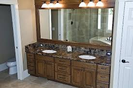 framing bathroom mirror ideas framed fixed bathroom mirrors home interiors