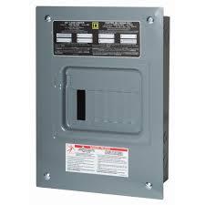 square d homeline 100 amp 20 space 40 circuit indoor main breaker