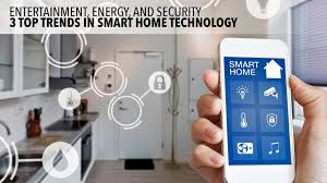 smart home entertainment energy and security 3 top trends in smart home