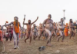 Hidden Camera Bathroom India India U0027s Kumbh Mela Festival Where Holy Men And Women Reach The