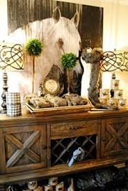 Mirror Over Buffet by Buffet Table With Wine Rack Dining Room Storage Sideboard Cabinet
