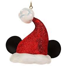 your wdw store disney ornament santa mickey ear hat