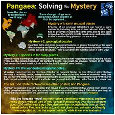 Map Of The World 1 Million Years Ago by Sci Fun Roadshow Exhibits Pangaea Solving The Mystery