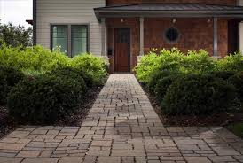 paver front path makeover zen easy paver walkway shmen our diy