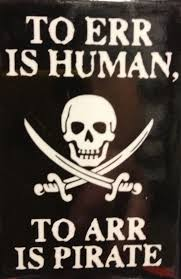 pirate art print poster drink up me hearties digital download