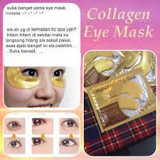 Jual Masker Mata Collagen Di Surabaya jual kecantikan wajah masker mata collagen gold eye mask