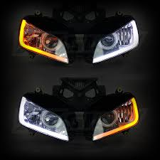 xkglow sequential switchback drl led turnsignal for headlights