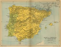 Spain Maps by Map Of The Peninsular War 1808 1814