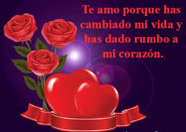 bonitas de rosas rojas con frases de amor imagenes de amor facebook de amor de rosas y corazones con frase