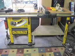 dewalt table saw dust collection table saws collection on ebay