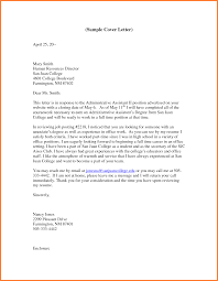 Ceo Assistant Resume Cover Letter For An Executive Assistant Financial Administrative