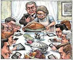 no thanksgiving eat and show a smartphone challenge cpyu