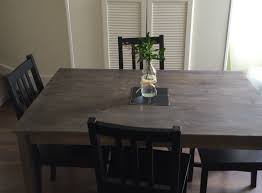 staining ingo table from ikea house pinterest apartments