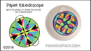 paper kaleidoscope craft youtube
