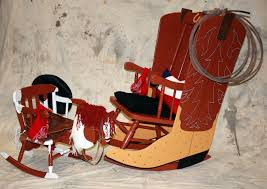 Kid Rocking Chair Urban Design Group Creates Western Inspired U201ccowboy Up U201d Rocking