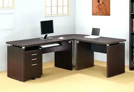 Mainstays L Shaped Desk Black L Shaped Desk L Shaped Desk Black Glass Computer By Office