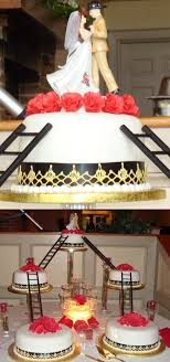 firefighter wedding cake firefighter theme weddings topweddingsites