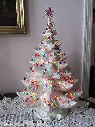 vintage ceramic christmas tree 24 best crafty ceramic christmas trees images on