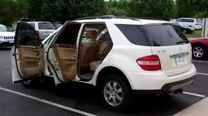 2006 mercedes ml350 4matic carcompany mercedes ml 350 4matic 6a078655 white beige