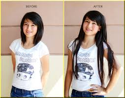Before After Hair Extensions by Art Of Nail Clip On Hair Extensions Review Tutorial