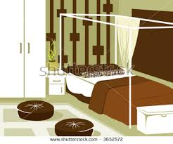 living room furniture top view interior stock vector 370552847