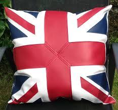 Blue Union Jack Cushion Union Jack Cushion