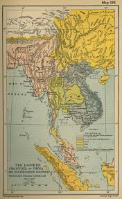 East And Southeast Asia Map by Map Of Southeast Asia And India 1805 1907