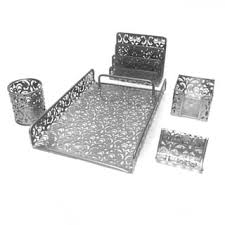 Silver Desk Accessories Silver Desk Accessories For Less Overstock