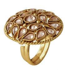 big rings online images Buy spargz traditional gold plated ad stone lct color antique big jpg